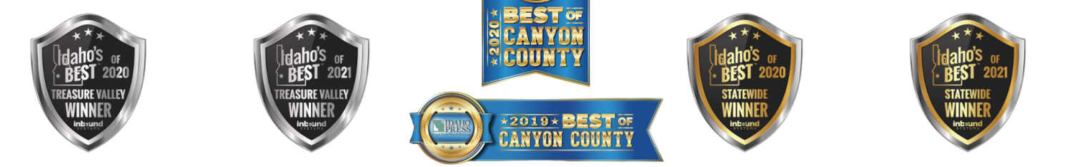 Best in the State of Idaho and Treasure Valley Awards